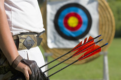 archery, individual sports, weapon, play, sports, recreation, outdoor recreation, games, target archery, bow and arrow,