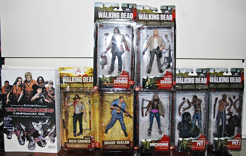 The Walking Dead haul!!!