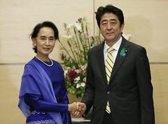 JAPAN MYANMAR DIPLOMACY