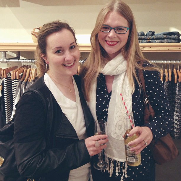 Fun night at the @madewell store 1 year anniversary at Town Center with @laneodle!