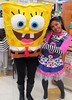 Armless Sponge Bob Square Pants and Friend