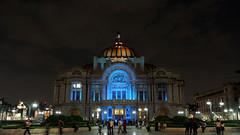 Bellas Artes en azul