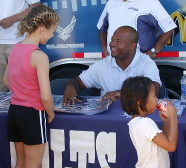 Gary Brackett at Holiday World