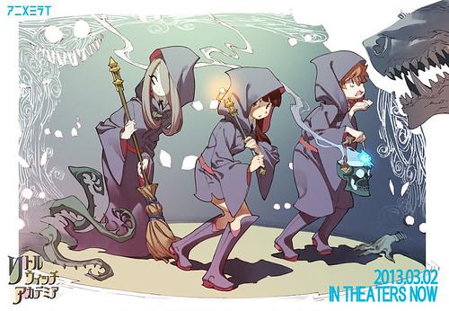 130420 – 新人原畫師培育企劃『アニメミライ2013』之魔女冒險動畫《リトルウィッチアカデミア》(Little Witch Academia)全球免費公開!