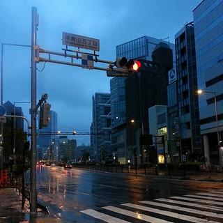 知財系オフ会@東京 2013年春、三次会終了。冷たい雨の中、散会した。空が白い。オフ会はこれにて終了。参加されたみなさん、ありがとうございます。また会いましょう! #fb