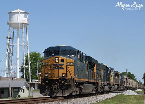 Grain Train Headin' South