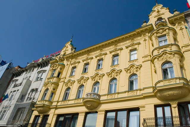 The Buildings of Ban Jelačić Square | Zagreb, Croatia