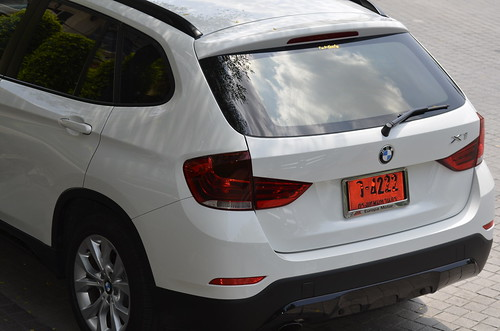 BMW X1 parked at Crystal