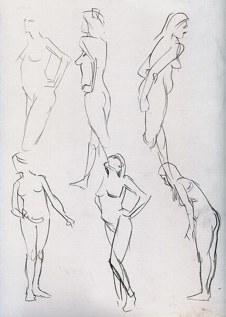 DU life drawing 4-20-13