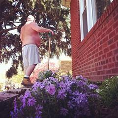 the lesbian next door needed some gay gardening intervention