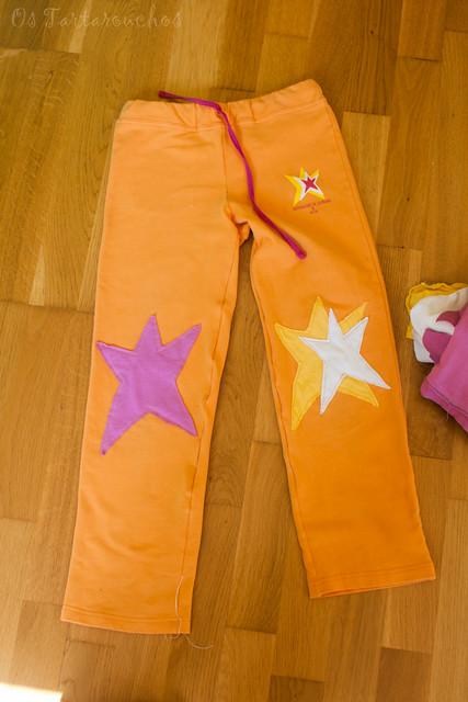 Pantalón estrelado
