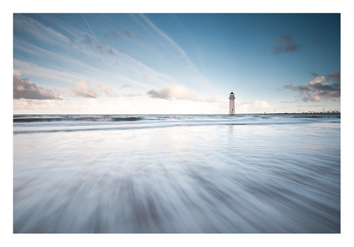 ocean new sea lighthouse water rock clouds liverpool brighton long exposure waves perch scape wallasey merseyside