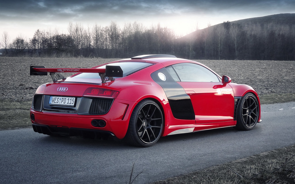 Prior Design PD-GT850 Widebody Aero Kit for the Audi R8