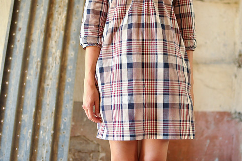 Wiksten Tova : Cotton Plaid Shirting