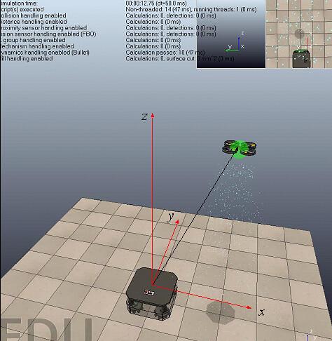 模型强化学习用于UAV自主着陆的尝试与仿真