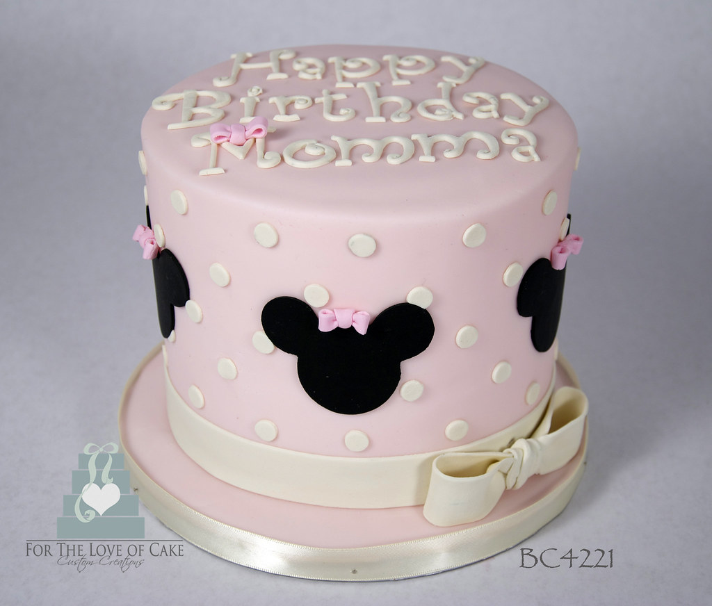 Minnie Mouse Birthday Cake Toronto