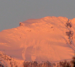 Alpenglow Avalanches