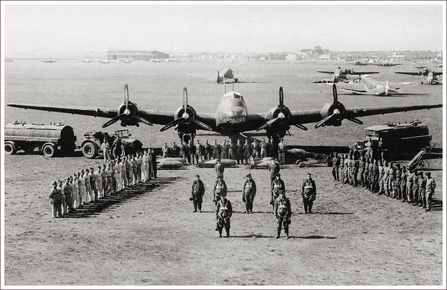 Piaggio P.108 crew, Guidonia airfield