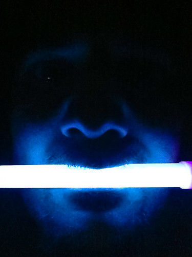 Glowstick By Phone by Eric Peacock, on Flickr