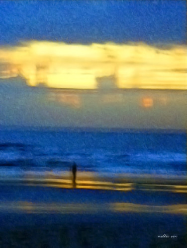 light sky people woman abstract color art beach girl nova weather architecture sunrise print photography twilight shadows contemporaryart fineart human photograph impressionism realism dimensions fineartphotography otherdimension nellievin rickgroleau