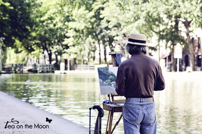 Canal de Sant Martin Paris 014 painter