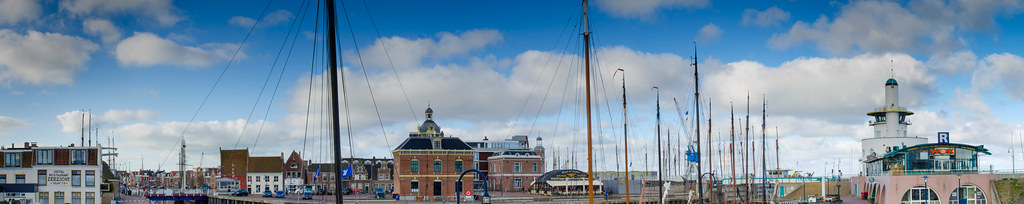 Harbour Harlingen panorama