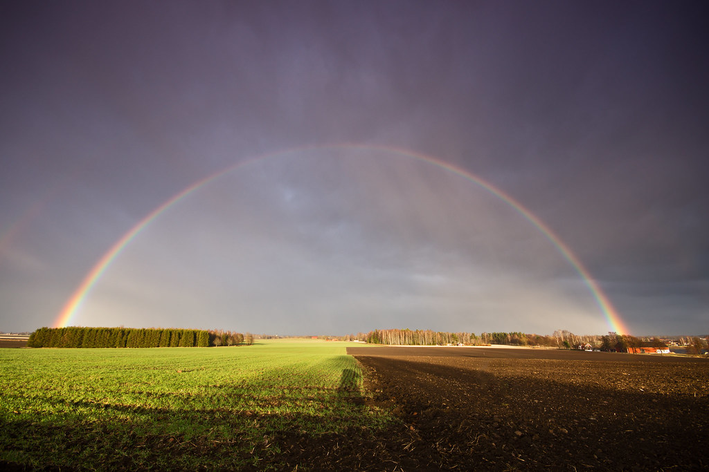 rainbow over mjölorp (Explored)