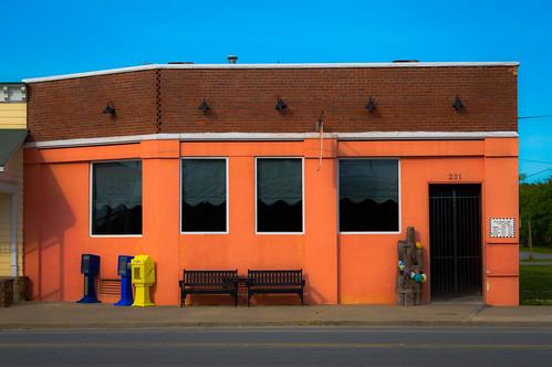 blue windows orange bench newspaper nc shadows balls northcarolina pilings benches belhaven 231 marc714 fishhookcafe