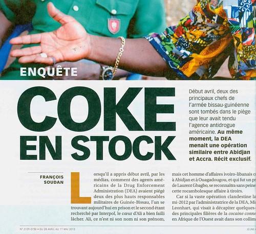 coke en stock 41