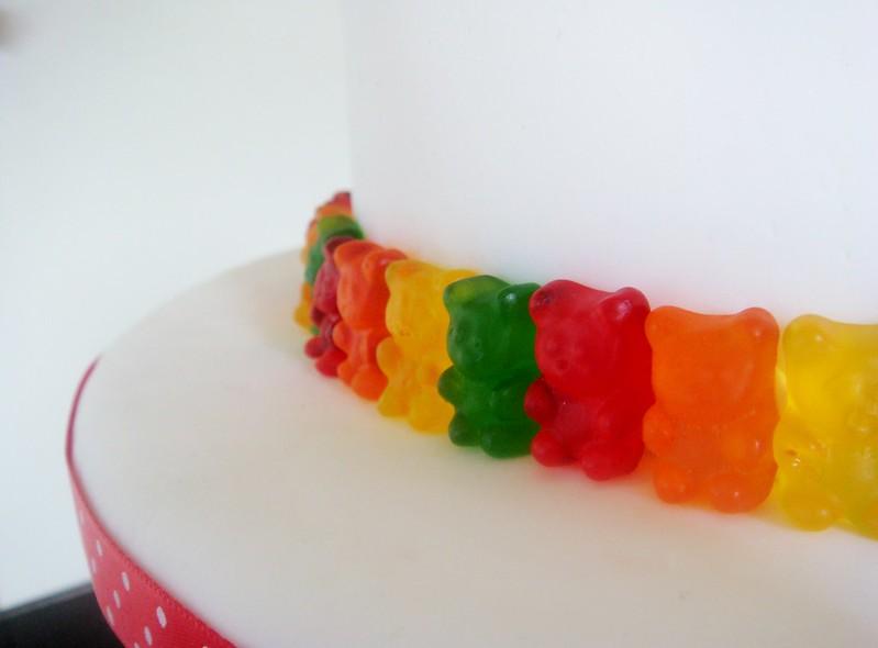 Gummy Bears Cake
