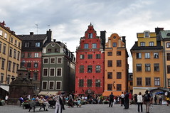 Stortorget, Gamla stan, Stockholm, Suède.