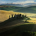 Tuscan landscape by leowincy - mauro sassetti