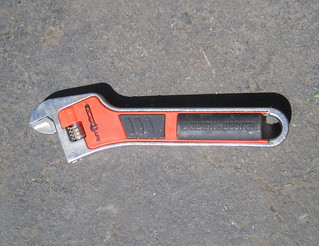 Rando junk -- today I found an electric adjustable wrench