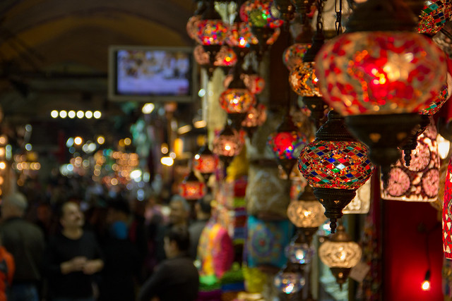 The Grand Bazaar - Istanbul, Turkey