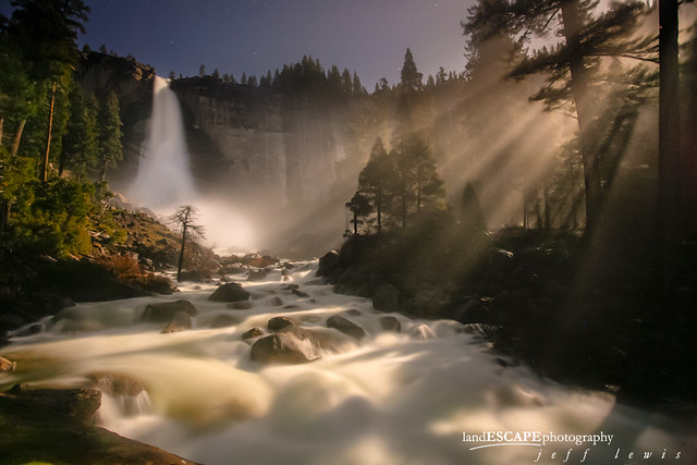 Moonlit Fairytale (Nevada Fall, Yosemite)