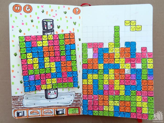 Kawaii tetris