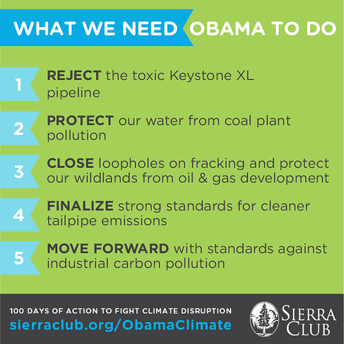 100 Days of Action - What We Need Obama To Do
