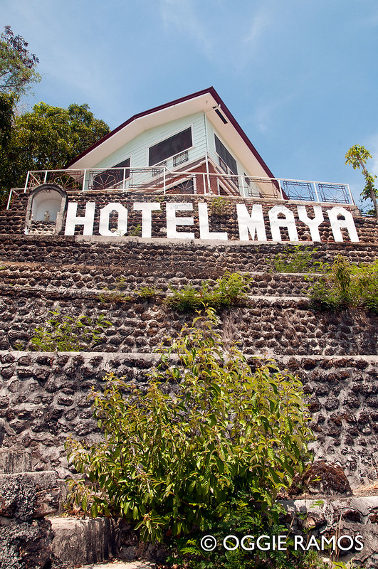 Culion - Hotel Maya Signage from the Road