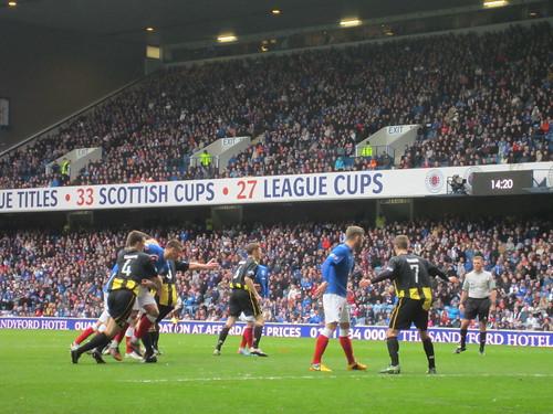 Rangers v Berwick (8)
