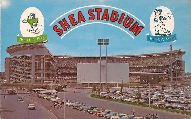 1964 Shea postcard