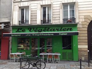 Le vegetarian restaurant