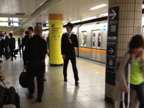 銀座線 溜池山王駅に到着 13番出口からホテルへ by haruhiko_iyota