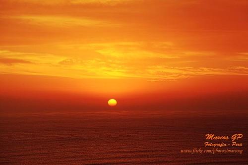 sunset peru atardecer ocaso miraflores loma marcosgp