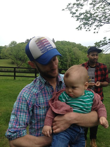 Elliott with Uncle Joe