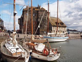 El Puerto Viejo de Honfleur.
