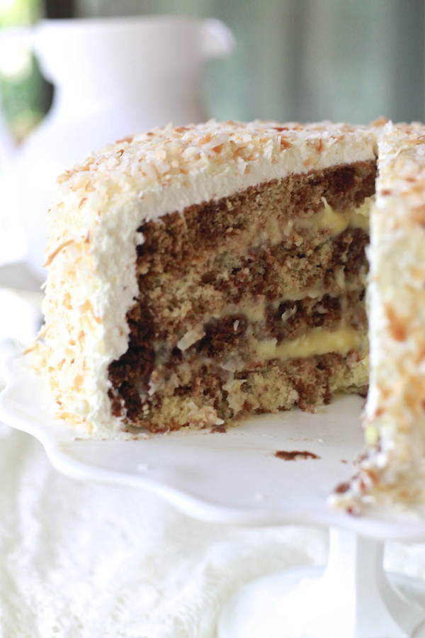 Chocolate Coconut Cream Cake 53