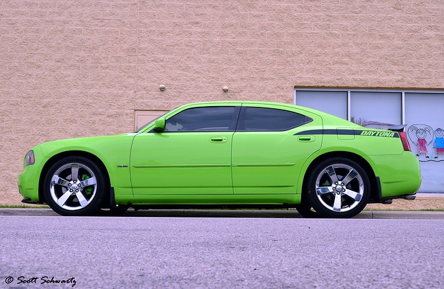Dodge Sublime Green Charger Daytona R T Flickr Photo Sharing