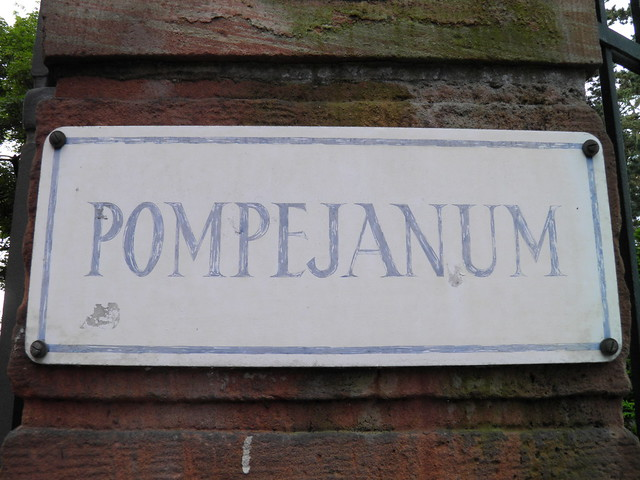 Pompejanum, idealized replica of a Roman villa, Aschaffenburg, Germany
