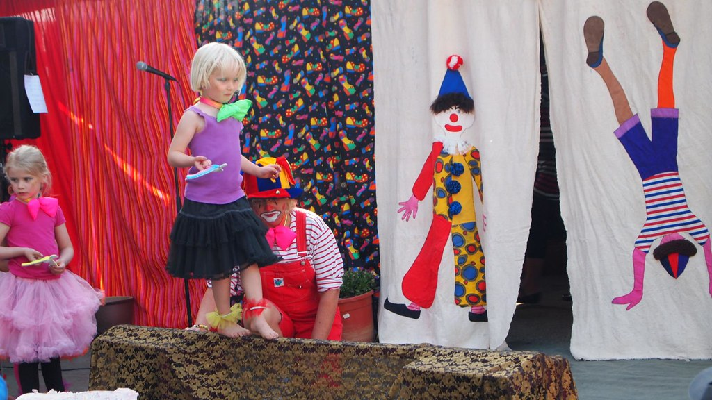 Röskva i Cirkus Hopla