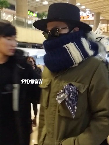 Big Bang - Gimpo Airport - 27feb2015 - G-Dragon - Fionnn_权小柒 - 04